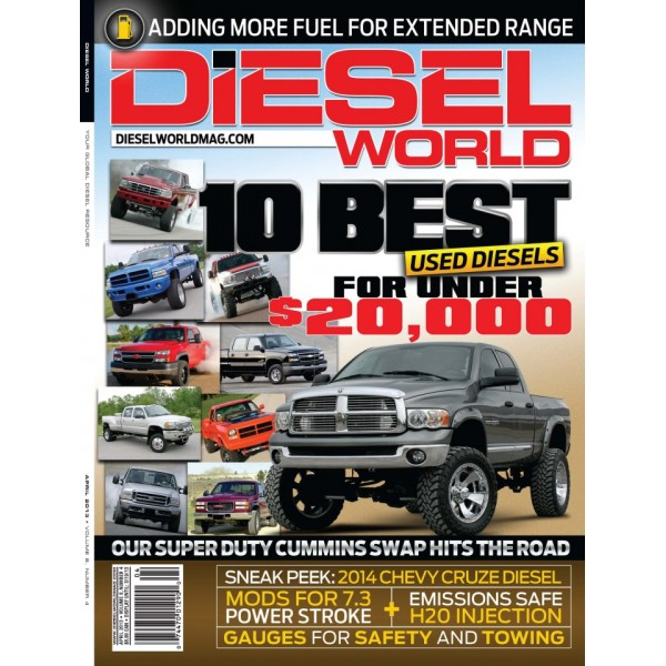Diesel World Magazine - March 2008 - 50+ New Diesel Power Parts and more!