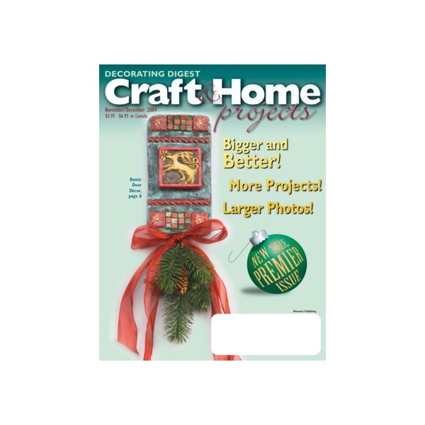 Decorating digest craft home projects magazine subscription - Home decorating magazine subscriptions plan ...