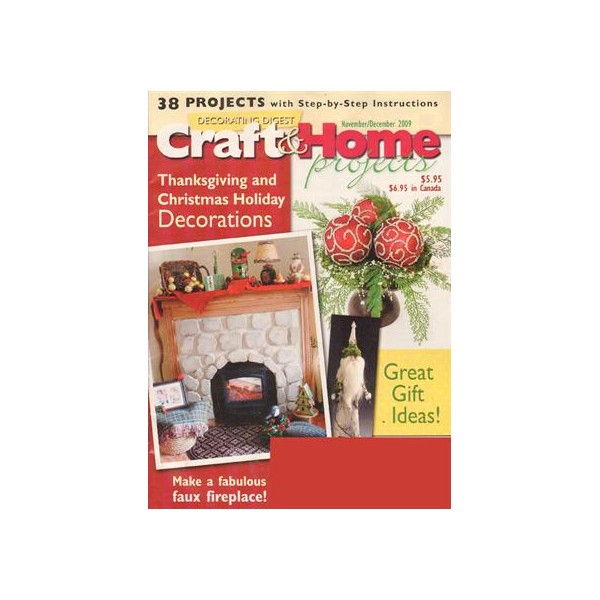 decorating digest craft home projects magazine subscription